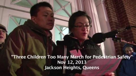 ParentsOfAllisonLiao_PedestrianSafetyMarch_Queens_NewYork_TheAtlanticCities_111413