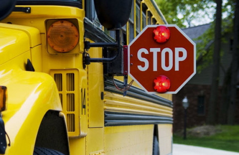 SchoolBus_StopPaddle_UnknownLocation MaybeAlabama_061915