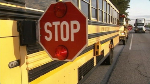 DoubleSchoolBusStopArms_ClaytonCounty_Georgia_042414
