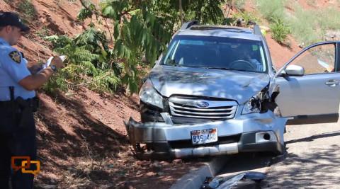 Crash_PoliceOfficeDamagedVehicle_StGeorge_Utah_072316